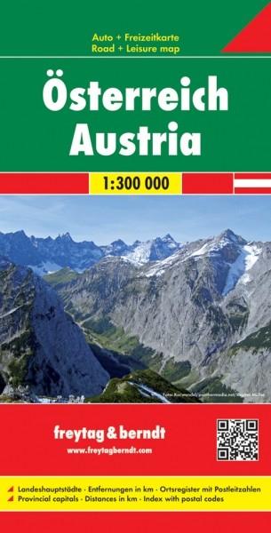 F&B Autokarte + Freizeitkarte Österreich