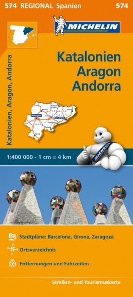 Michelin KR Katalonien, Aragon
