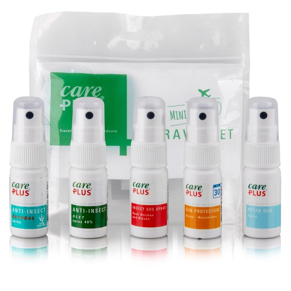 Care Plus Travelset - 5 Sprays