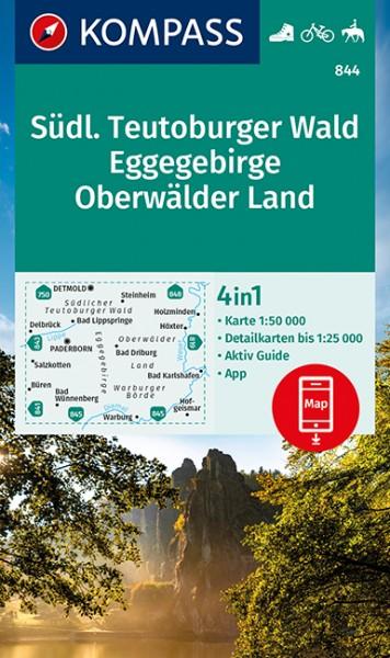 KOMPASS Wanderkarte Südl.Teutoburger Wald