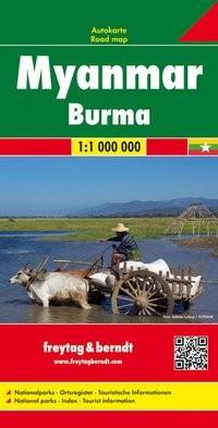F&B Autokarte Myanmar - Burma