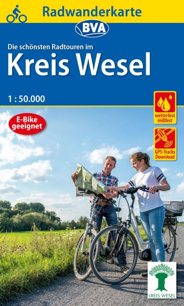 BVA Radwanderkarte Kreis Wesel