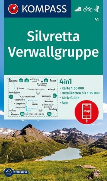 Kompass WK Silvretta