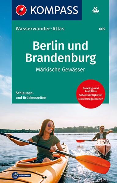 KOMPASS Wasserwanderatlas Berlin und Brandenburg