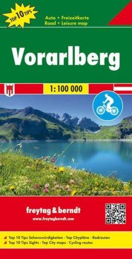 F&B Autokarte Vorarlberg