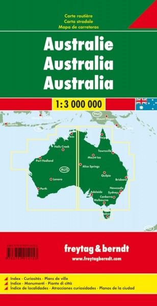F&B Autokarte Australien