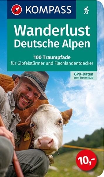 KOMPASS Wanderlust Deutsche Alpen