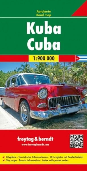 F&B Autokarte Kuba