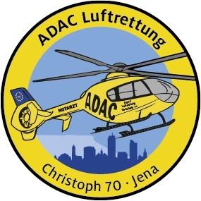 ADAC Luftrettung Fanpatch Christoph 70-Jena