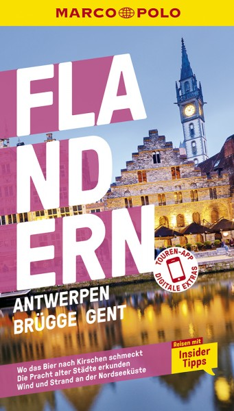 MARCO POLO Reiseführer Flandern, Antwerpen, Brügge