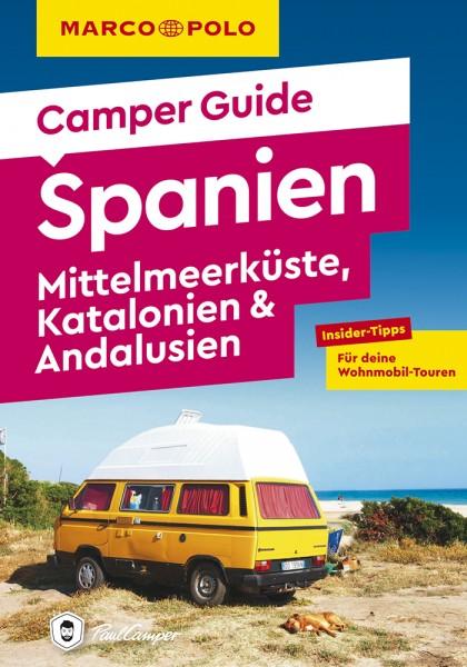 MARCO POLO Camper Guide Spanien: Mittelmeerküste
