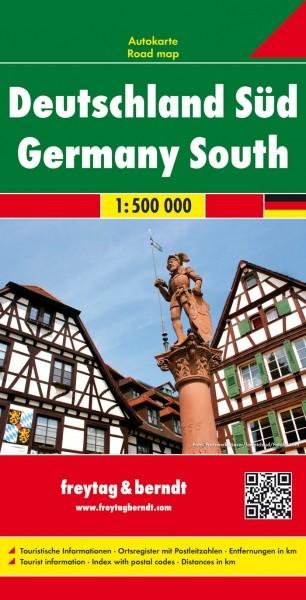 F&B Autokarte Deutschland Süd