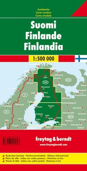 F&B Autokarte Finland