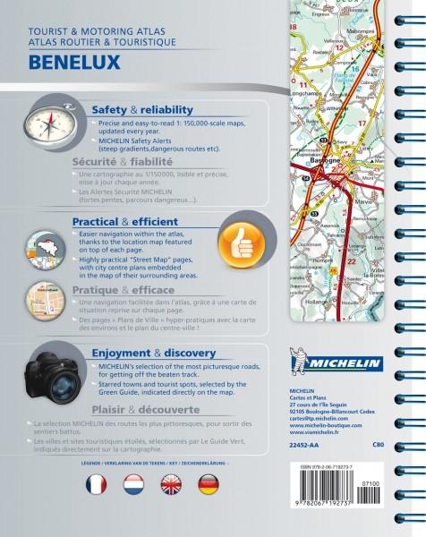 Michelin Atlas Benelux