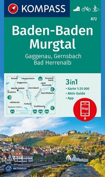 Kompass WK Baden-Baden/Murgtal