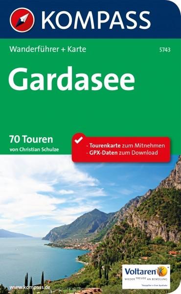 Kompass Wanderführer Gardasee