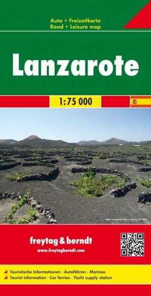 F&B Autokarte & FZK Lanzarote