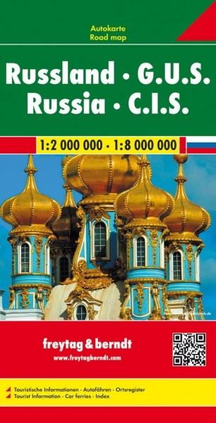 F&B Autokarte Rußland-GUS