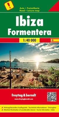 F&B Autokarte + Freizeitkarte Ibiza - Formentera