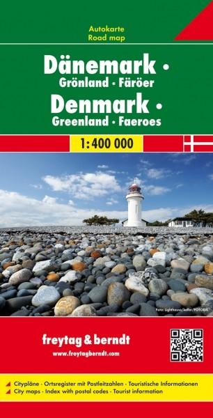 F&B Autokarte Dänemark