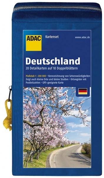 ADAC Straßen-Kartenset D 18/19