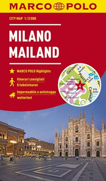 MP Cityplan Mailand