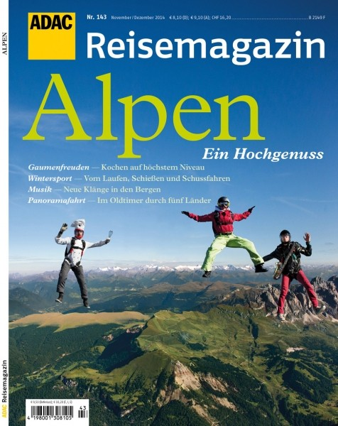 ADAC Reisemagazin Alpen