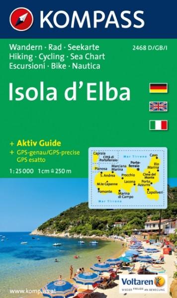 Kompass WK Isola d' Elba