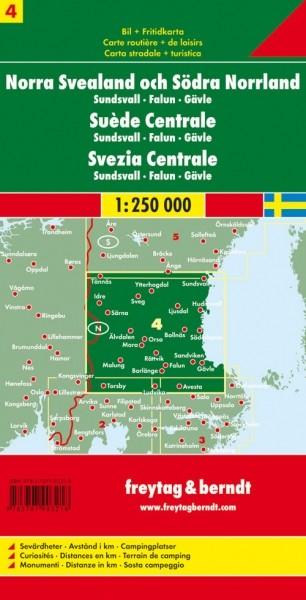 F&B Autokarte Schweden Mitte