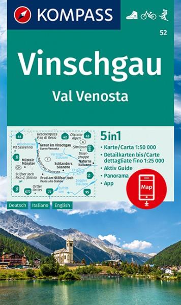 KOMPASS WK Vinschgau /Val Venosta