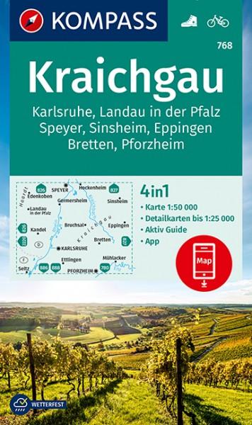 Kompass WK Kraichgau, Karlsruhe, Landau (Pfalz)