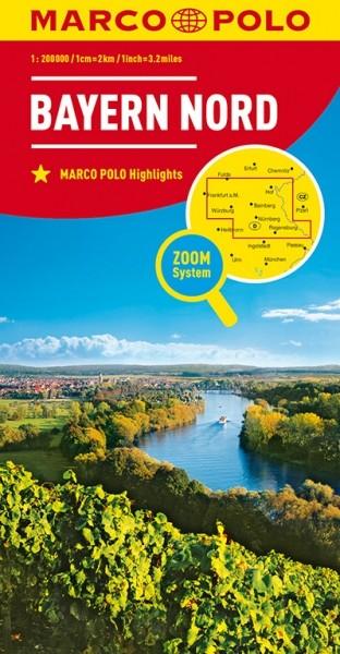 MP Karte Bayern-Nord