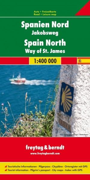 F&B Autokarte Spanien Nord