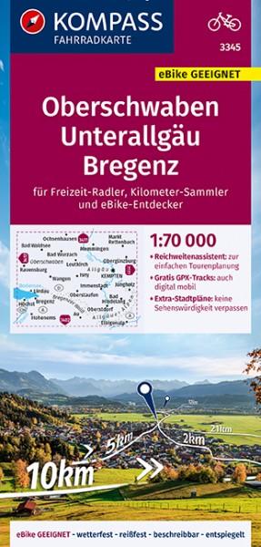 KOMPASS FK Oberschwaben, Unterallgäu, Bregenz