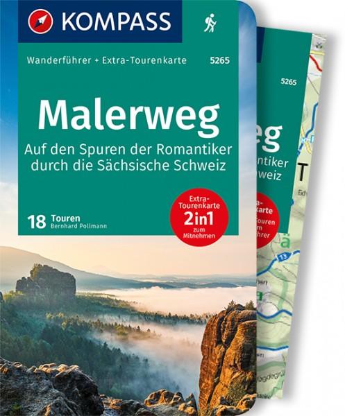 KOMPASS Wanderführer Malerweg