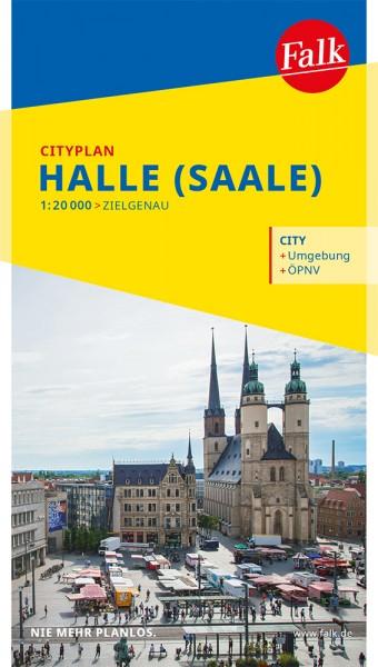 Falk Cityplan Halle (Saale)