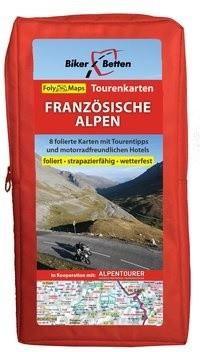 FolyMaps Tourenkarten Set Französische Alpen