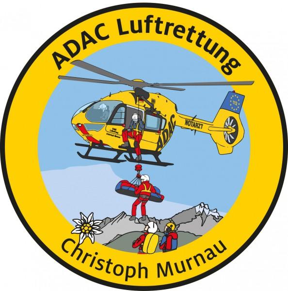 ADAC Luftrettung Fanpatch Christoph Murnau
