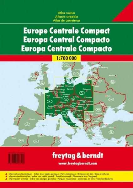 F&B AutoAtlas Zentraleuropa