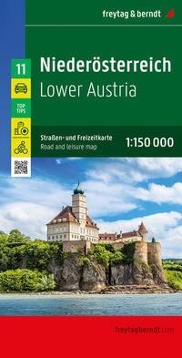 F&B Autokarte + Freizeitkarte Niederösterreich