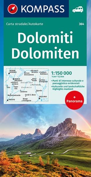 KOMPASS Panorama Dolomiten