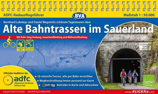ADFC-Radausflugsführer Alte Bahntrassen Sauerland