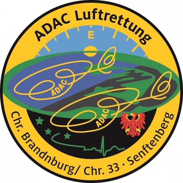 ADAC Luftrettung Fanpatch Christ. Branden.-Senfte.