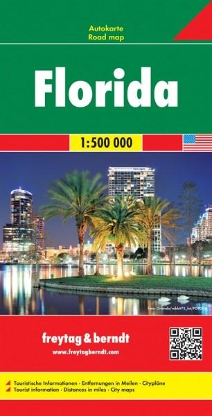 F&B Autokarte Florida