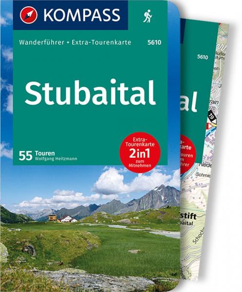 KOMPASS Wanderführer Stubaital mit Karte