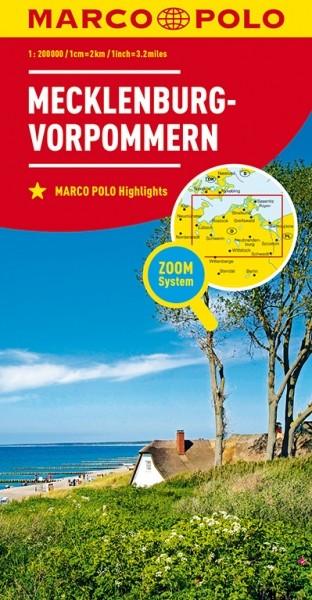 MP Karte Mecklenburg-Vorpomme.