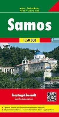 F&B Autokarte + Freizeitkarte Samos