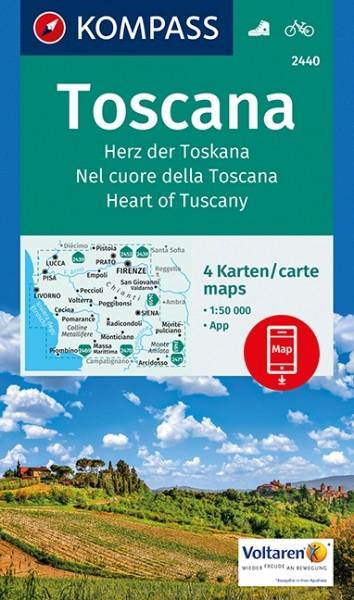 Kompass WK Herz der Toskana