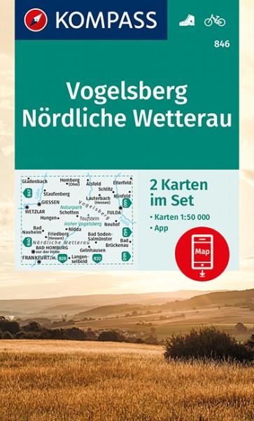 KOMPASS Wanderkarte Vogelsberg/Nördl Wetterau