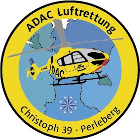 ADAC Luftrettung Fanpatch Christoph 39-Perleberg